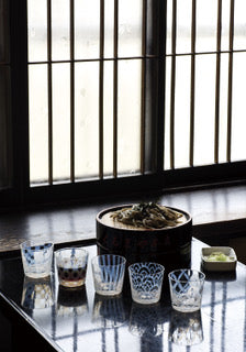 Tumbler Stripe Large - Hirota Glass - Shop Now at Sans Tabù