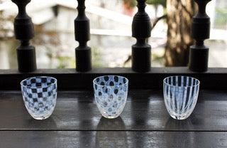 Tea Cup Checker - Hirota Glass - Shop Now at Sans Tabù