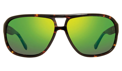 Revo Hank Tortoise Frame with Evergreen Lens