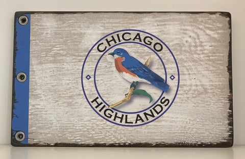 Signs by the Sea Pin Flag