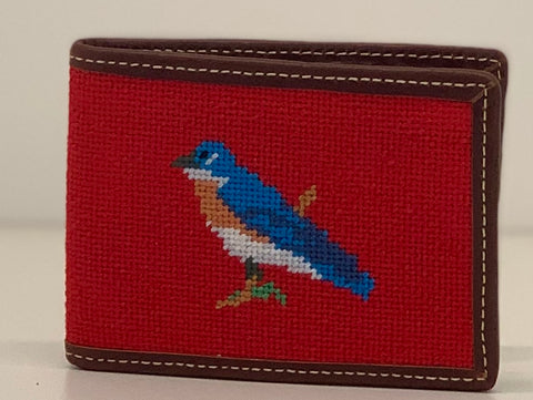 Custom Needlepoint Wallet
