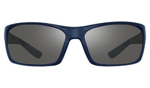 Revo Rebel Matte Blue Frame with Graphite Lens