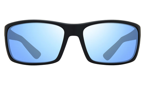 Revo Rebel Matte Black Frame with Blue Water Lens