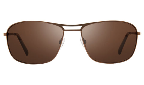 Revo Surge Matte Brown Frame with Terra Lens