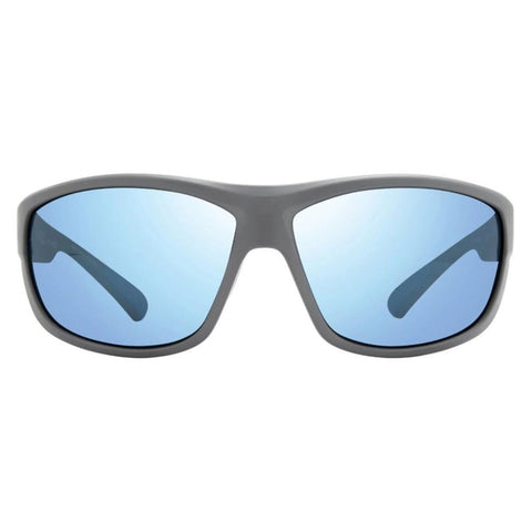 Revo Caper Matte Light Grey Frame with Blue Water Lens