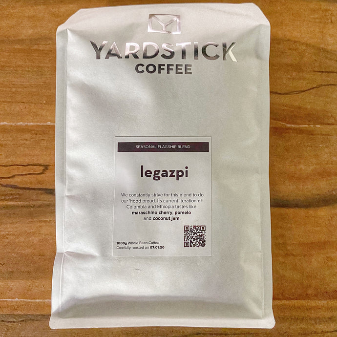 Yardstick Coffee (Whole Beans 1kg) - Legazpi Blend