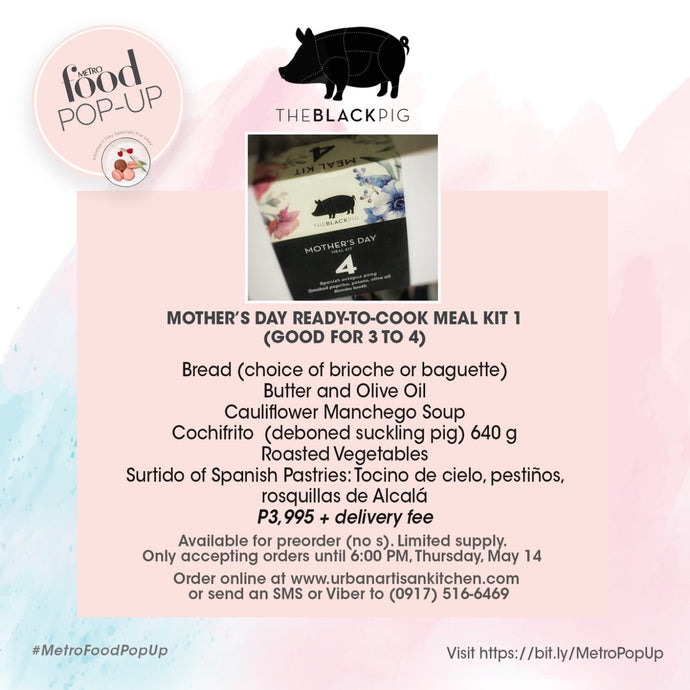 Metro Pop-Up (Set Menu 1 - Deboned Suckling Pig)