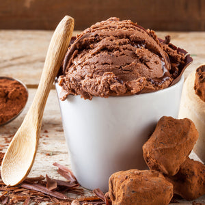 70% Dark Chocolate Ice Cream