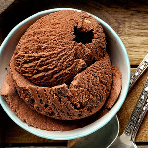 Chocolate Earl Grey Ice Cream