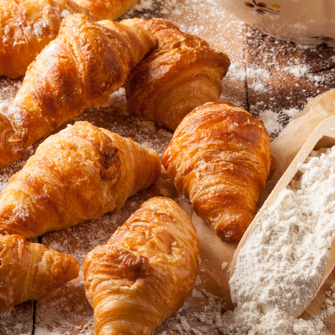 Mini Plain Croissants (Pack of 10)