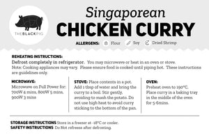 Singaporean Chicken Curry