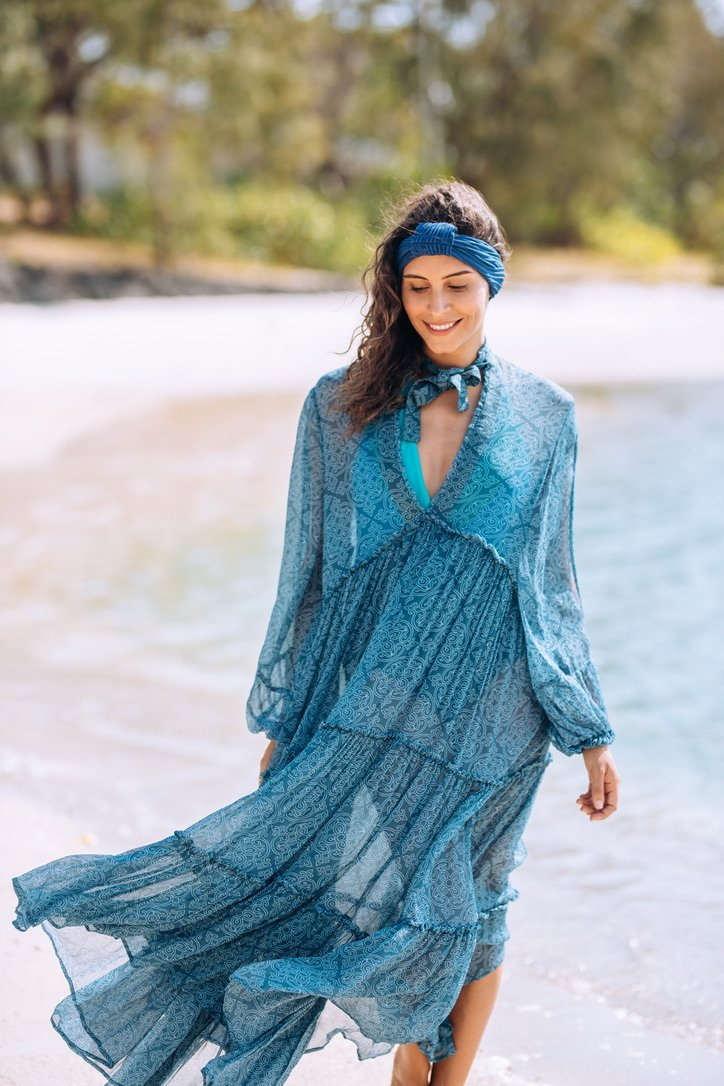 MAXI DRESS MARY - Kaftan Dreams