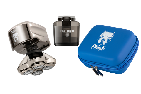 the pitbull platinum pro comes with all the accessories you need