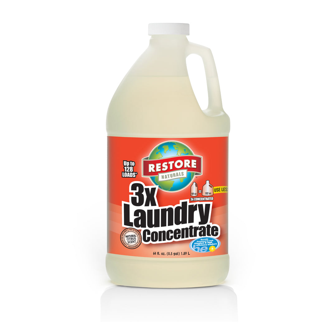 3X Laundry Concentrate (64 fl. oz.)