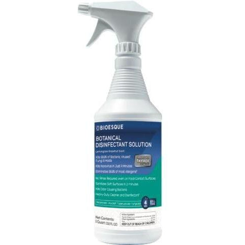Bioesque Solutions Botanical Disinfectant - 12 Quart Case