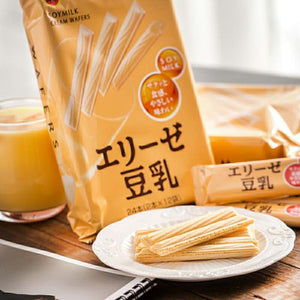 [Japan Imported] Bourbon Soy Milk Cream Waffle