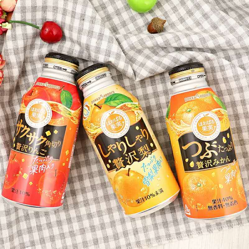 [Japan BEST Seller] Pokka Sapporo Premium Pulpy Mandarin Fruit Juice