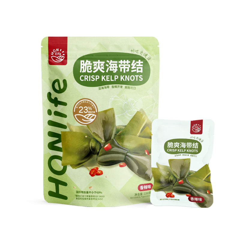 [China Special]  HONLife crisp kelp knots (Spicy)
