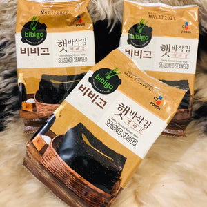 KOREAN BIBIGO Seasoned Laver(Original) 5g