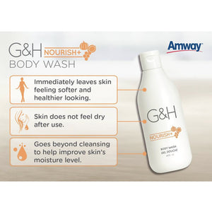 G&H NOURISH+ BODY WASH 400ml