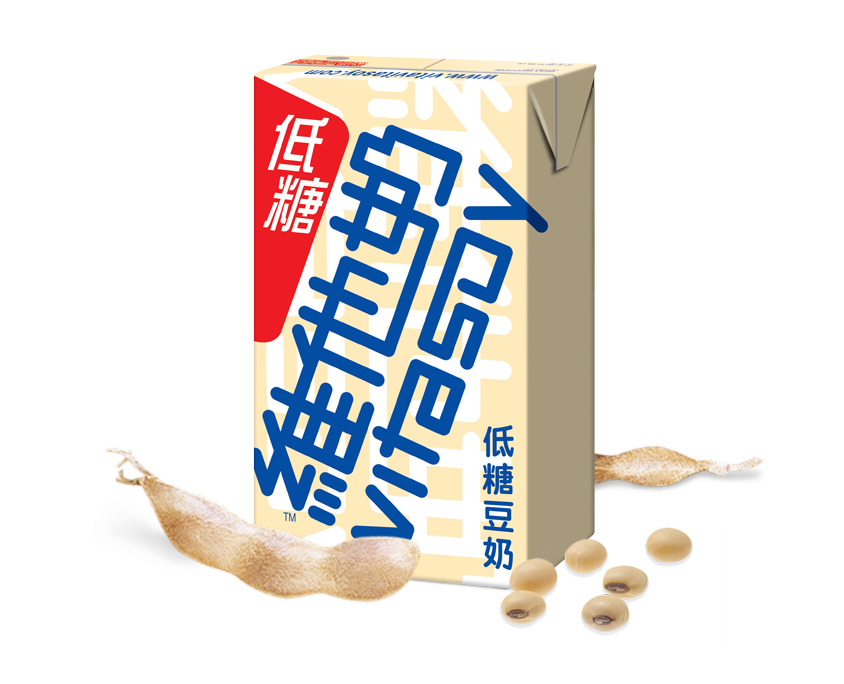 [Hongkong Version] Vitasoy Low Sugar Soybean Milk 250ml