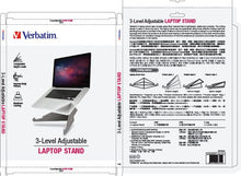 Load image into Gallery viewer, Verbatim Level adjustable laptop stand