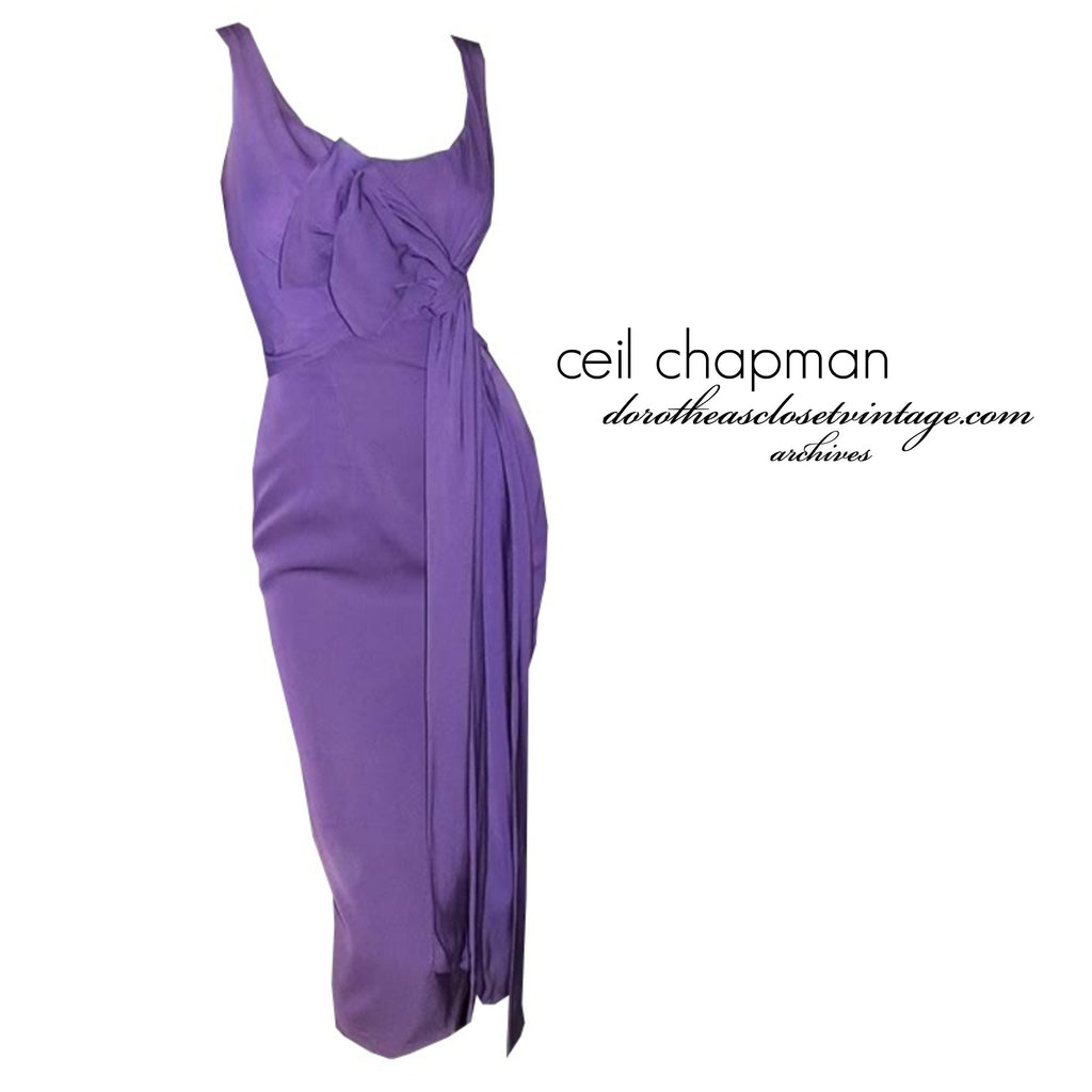 Purple Ceil Chapman! From the Archives