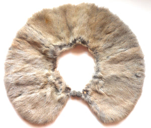 Russian Squirrel Fur Collar circa Early 1900s