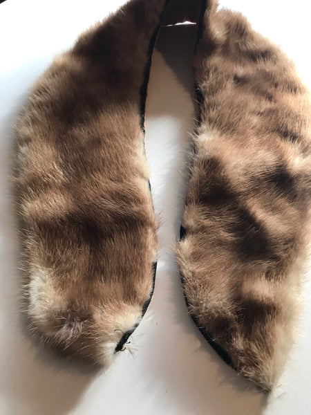 Autumn Haze Mink Fur Collar circa 1960s