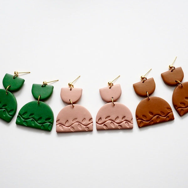 Celeste Polymer Clay Earrings
