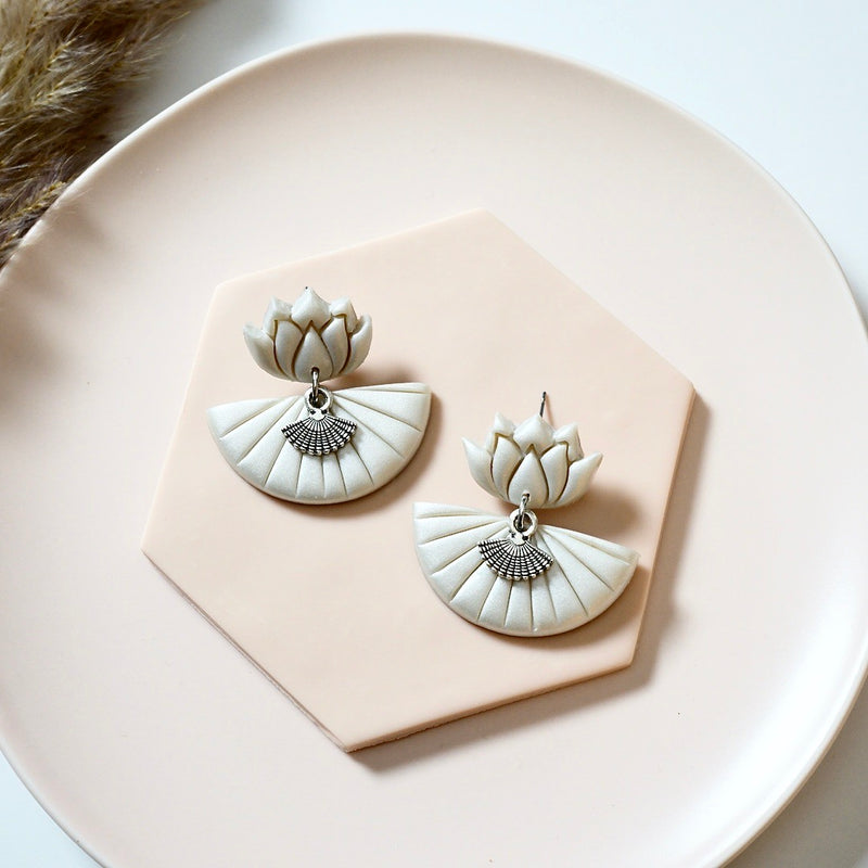 Bella Polymer Clay Earrings