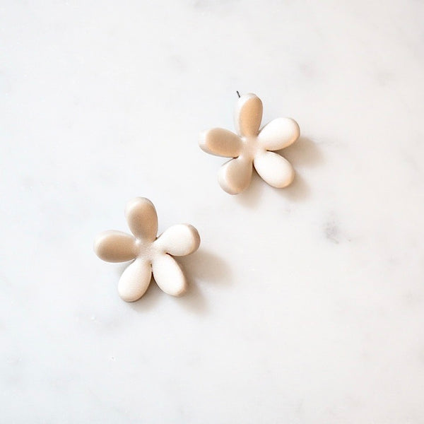 Bloom Polymer Clay Stud Earrings