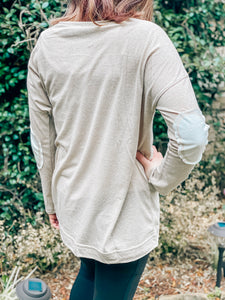 Elbow Patch Tee