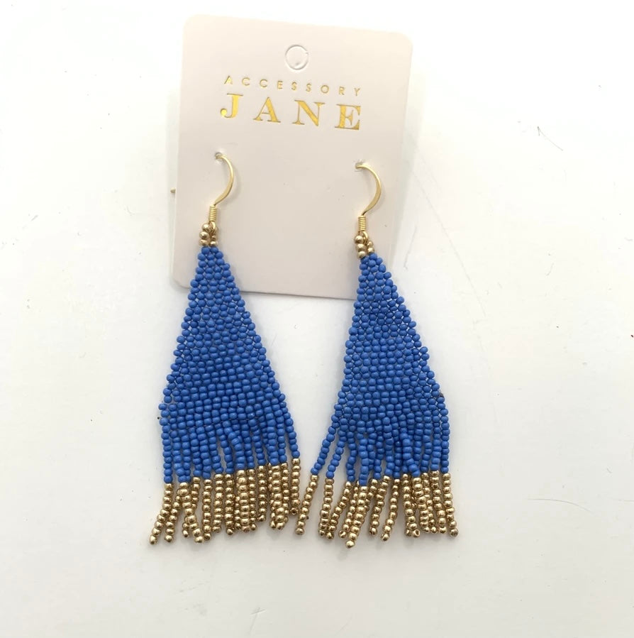 Alex Blue Earrings