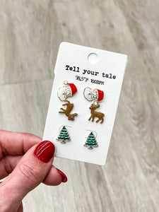 Christmas Earring Set