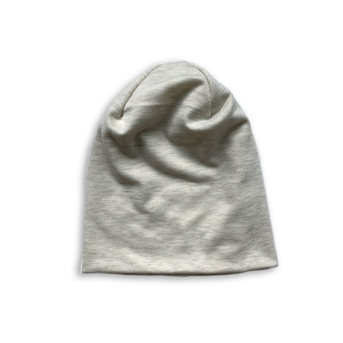 Slouchy Beanie in Heather Champagne