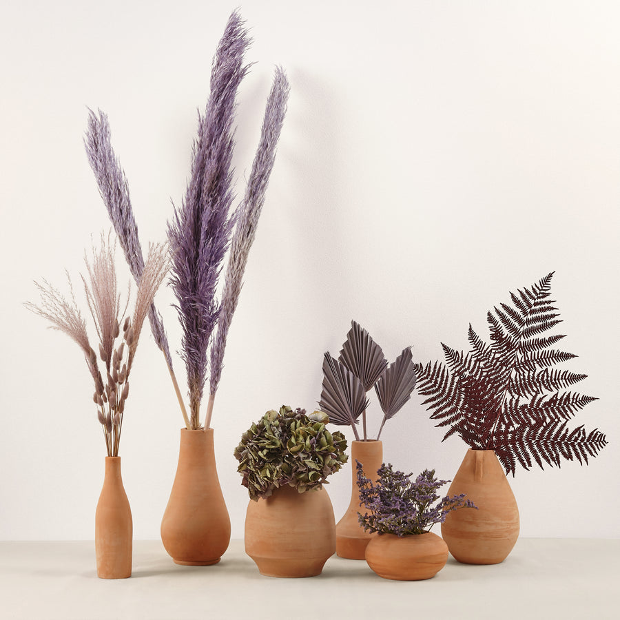purple dried florist collection Dubai