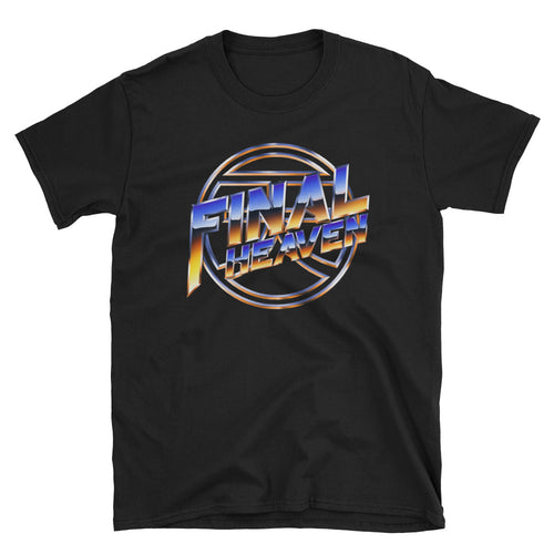 Final Heaven x Chrome and Lightning T-Shirt - Ice and Gold