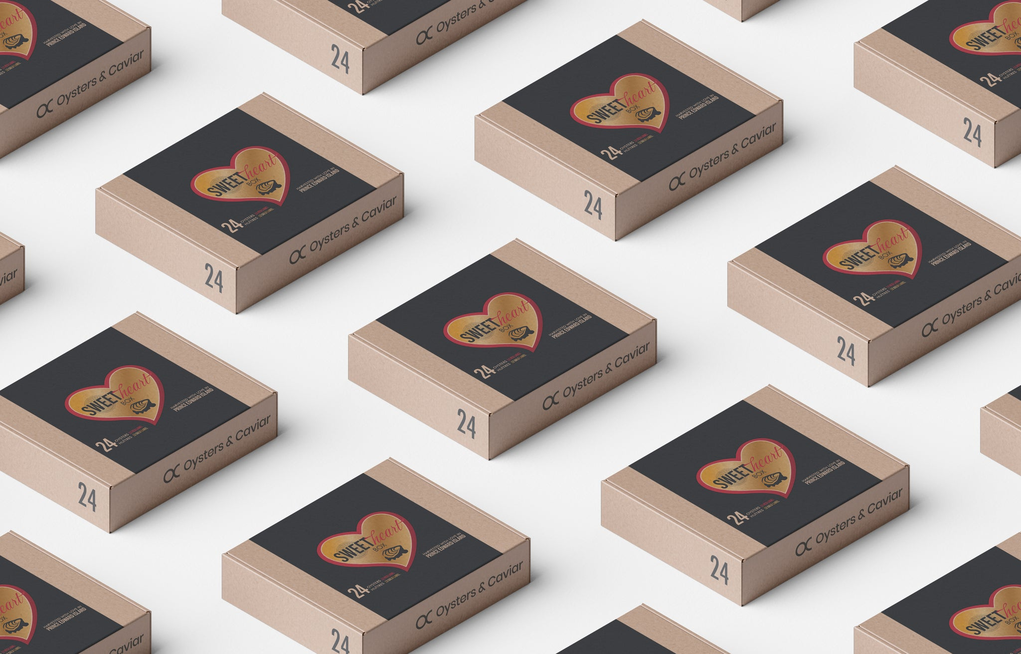 The Sweetheart box : A limited-edition for Valentine's Day