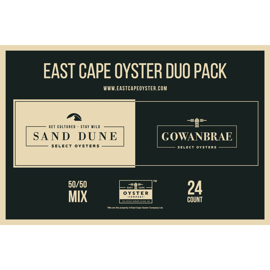 East Cape oyster duo pack