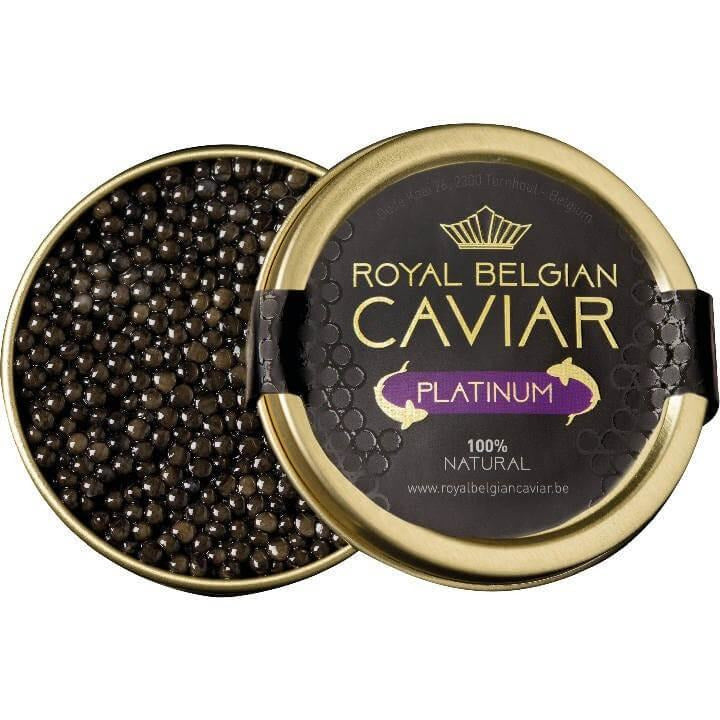Royal Belgian Platinum Caviar