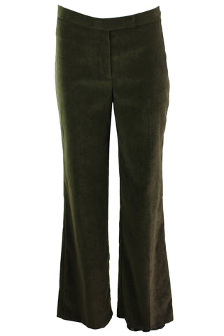 Vintage Green Business Pants