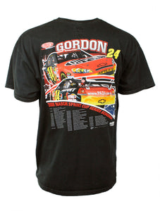 Vintage Jeff Gordon NASCAR Tour Tee