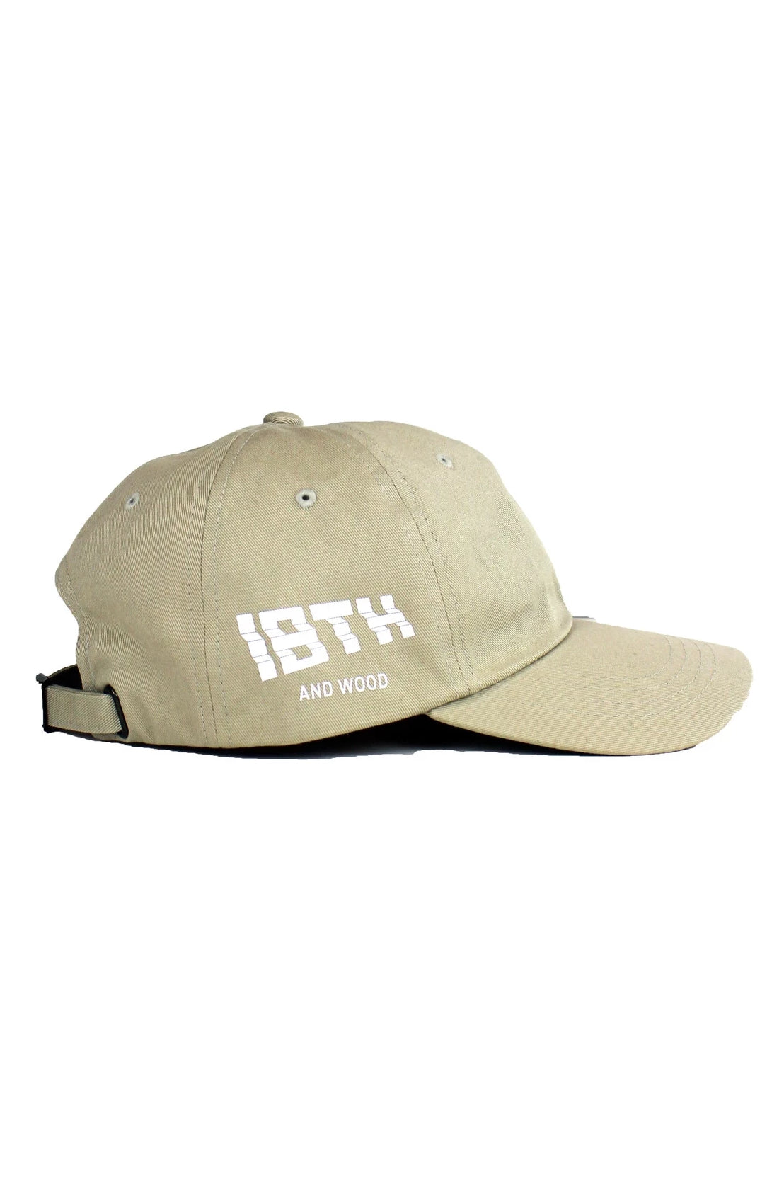 18th & Wood Tan Logo Cap