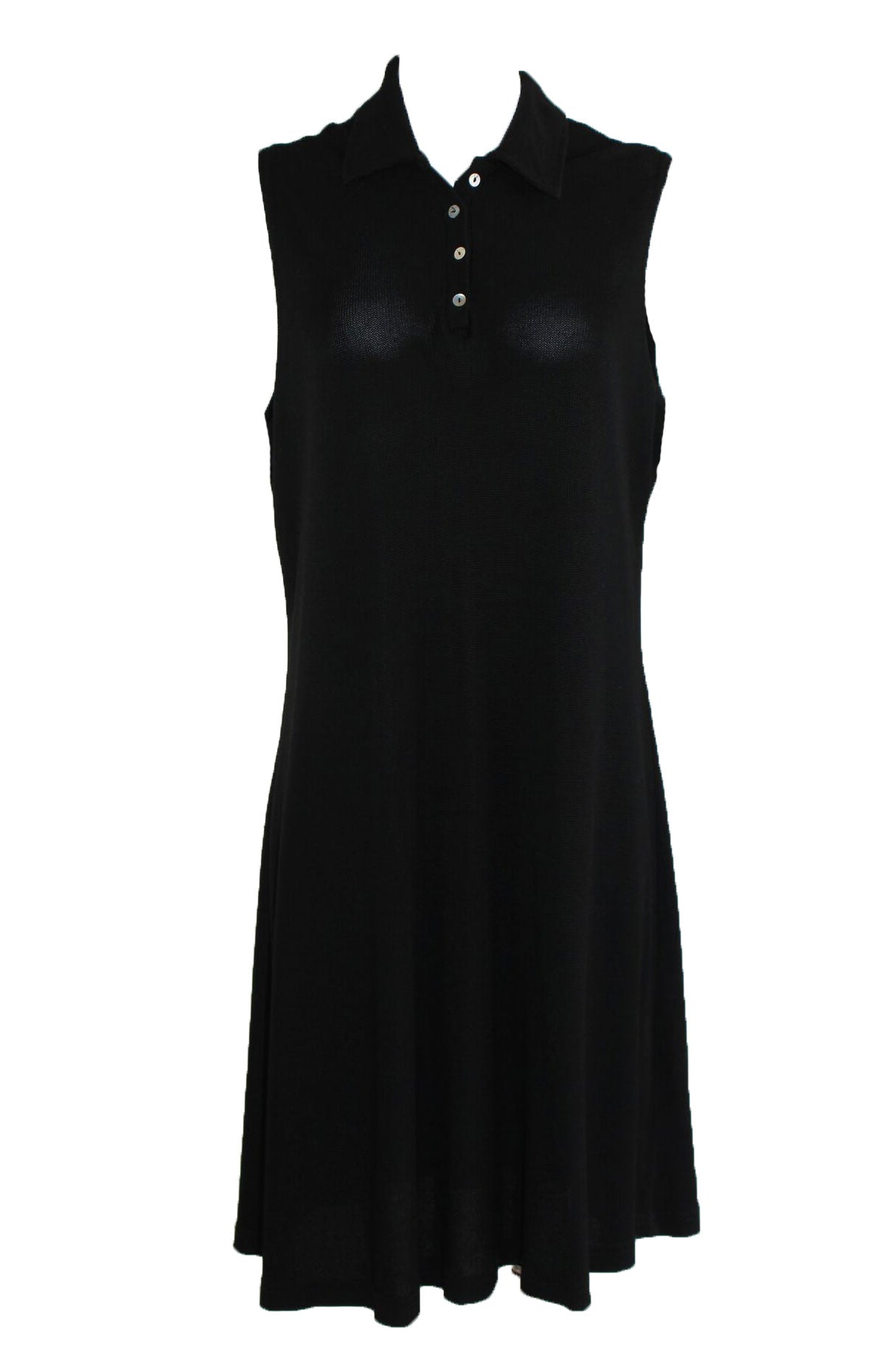 Vintage Black Polo Dress