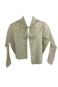 Vintage Asymmetrical Khaki Top