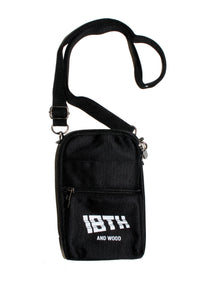 18th & Wood Logo Shoulder Bag