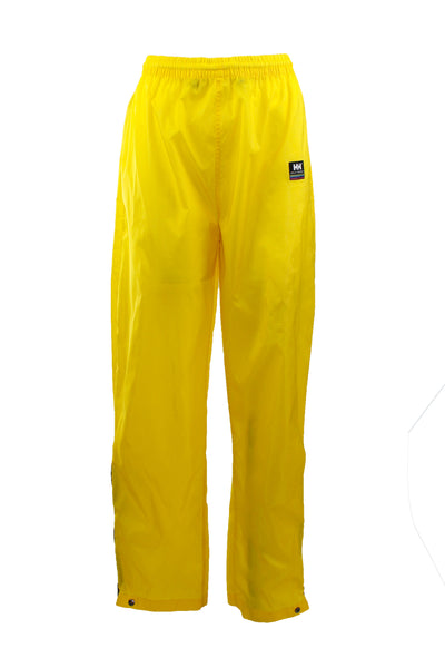 Vintage Yellow Helly Hansen Windbreaker Pants