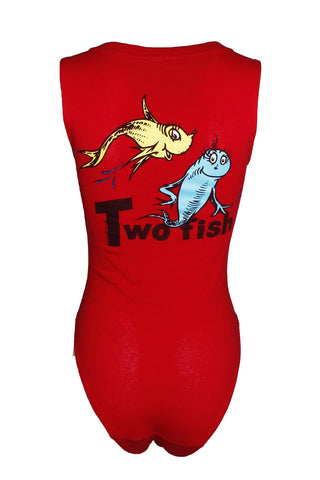 Reworked Vintage One Fish Bodysuit