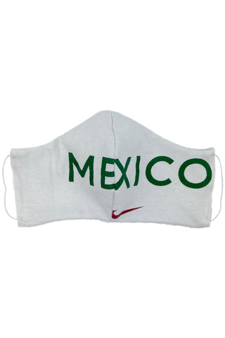 Reworked Vintage Nike Mexico Face Mask